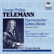 Front cover Telemann Vol. 2